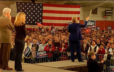 H_Clinton baphomet flag
